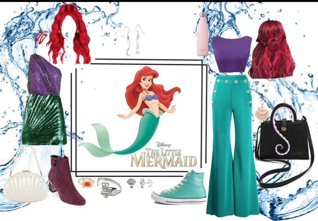 Little mermaid- suggest style