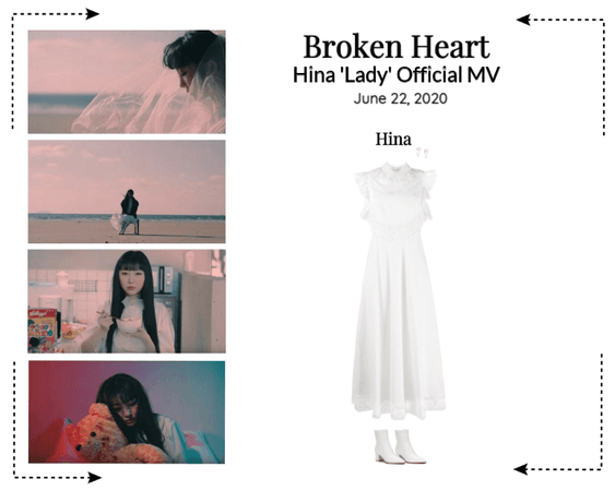 Broken Heart (상한 마음) Hina 'Lady' Official MV