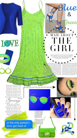 Color Combo - Blue & Green