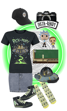 Insta Rick & Morty Ready