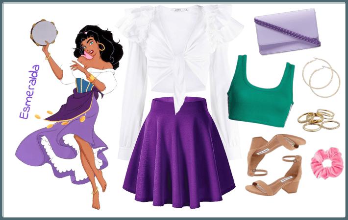 Esmeralda outfit - Disneybounding - Disney