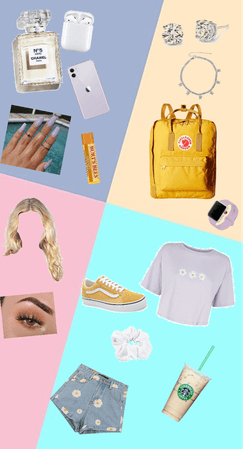 Pastel Inspired Fit