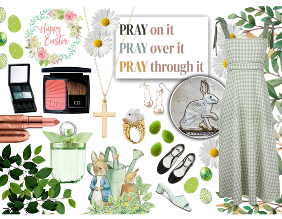 Easter Outfit: the mint green style