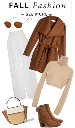 brown fall outfit