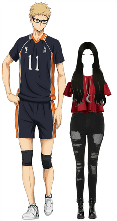 Kei Tsukishima's Girlfriend