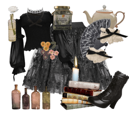 gothic herbal witch