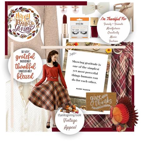 Thanksgiving Look: Vintage Appeal