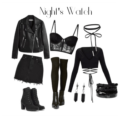 Night's Watch Modern Day Outfit