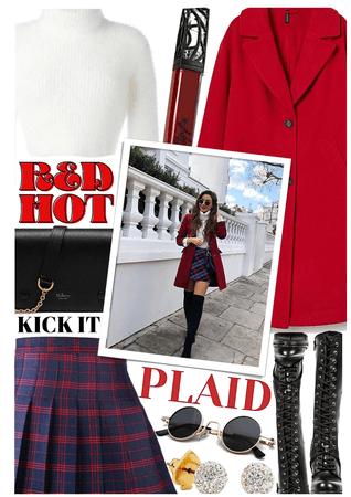 Red Hot Plaid ❤️