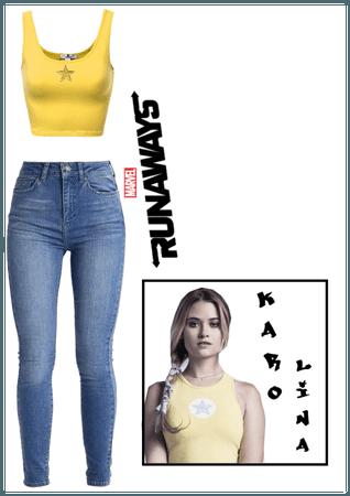 Karolina Runaway's inspired look