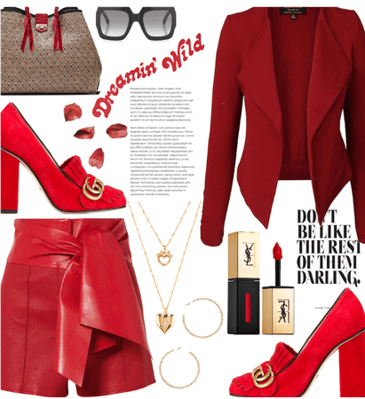 All Red Everything