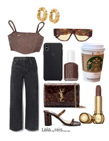 Stylish Brown Outfit