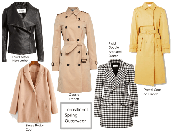 Transitional Spring Outwear