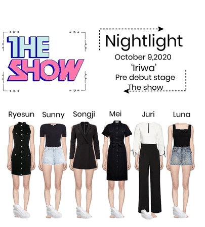 Nightlight (Iriwa) | Pre debut stage