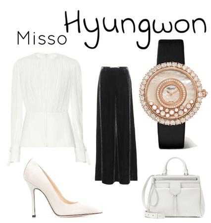 MONSTA X - Hyungwon [fall/autumn date]