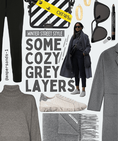 Cozy grey layers