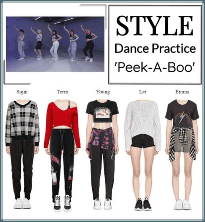 STYLE 'Peek-A-Boo' Dance Practice