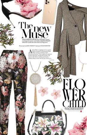 Floral asymmetrical 🌸