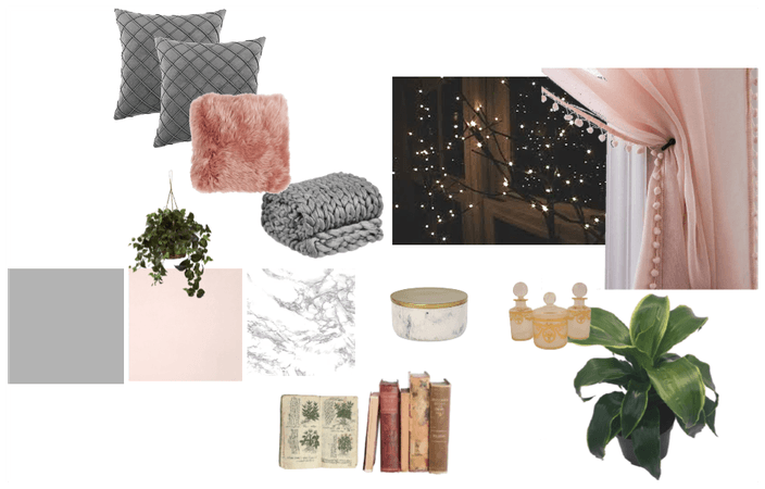 Blush/Grey Room