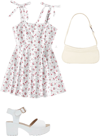 floral summer outfit 💕🌺