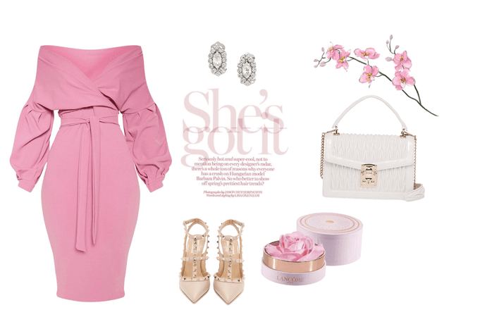 glam in pink this new year