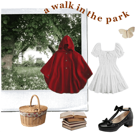 Red Riding Hood vibes