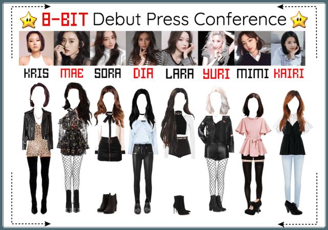 ⟪8-BIT⟫ Debut Press Conference