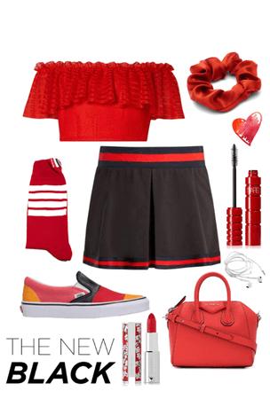 Riled in Red