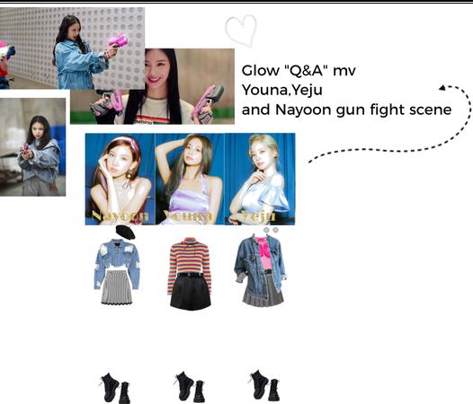 """Glow """"Q&A"""" MV gun fight scene"""