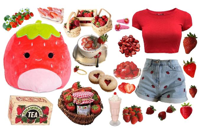 strawberry squishmallow