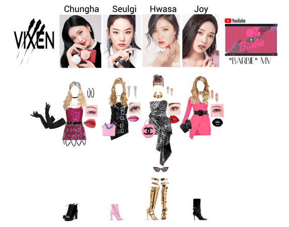 """VIXEN """"Barbie"""" MV part two"""