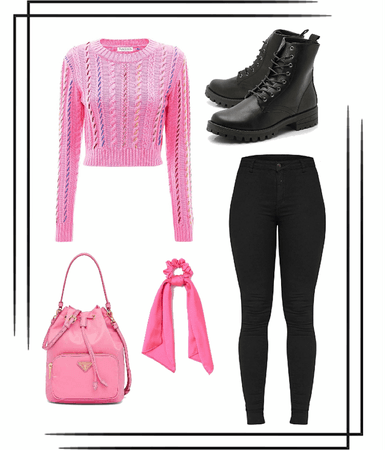 Pink Casual