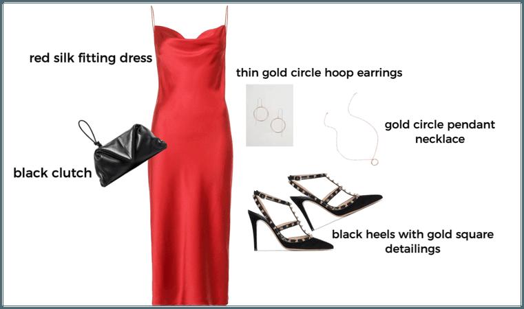 elegant night outfit