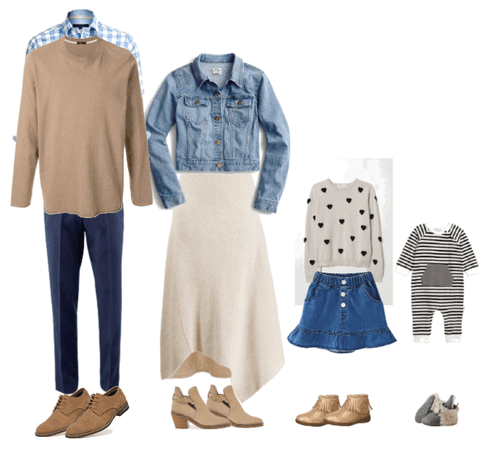 Family fall outfit 2