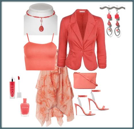 Coral Fashionista