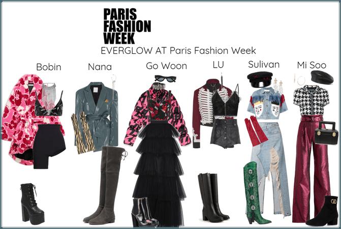 EVERGLOW AT Paris Fashion Week