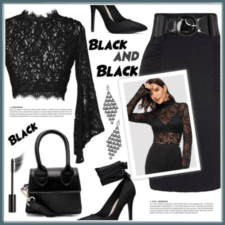 Black & Black!