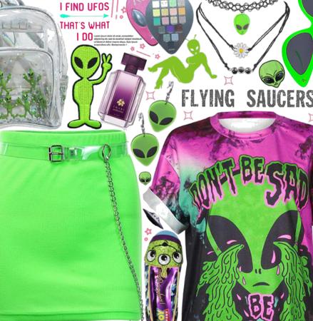 Alien UFOs