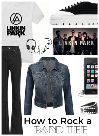 How to Rock a Band Tee/Linkin Park