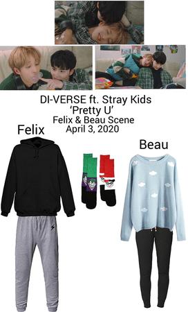 DI-VERSE ft. Stray Kids 'Pretty U' M/V