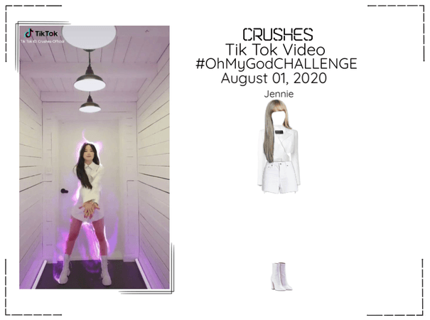 Crushes (호감) [Jennie] Tik Tok Challenge