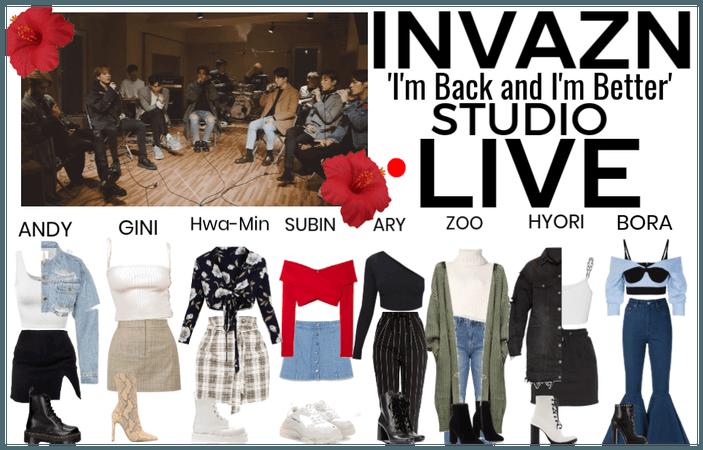 INVAZN IBAIB Studio LIVE 6-10-19