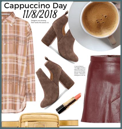 Cappuccino Day 11/8/2018