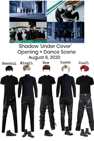 Shadow 'Under Cover' Opening + Dance Scene