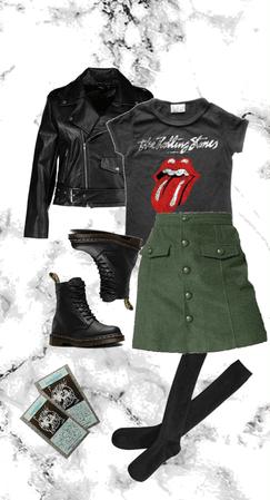 Girl's Night Out but Make it Punk Rock