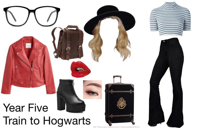 Year Five - Train to Hogwarts