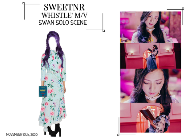 ~SWTNR~ WHISTLE M/V | SWAN'S SOLO SCENE