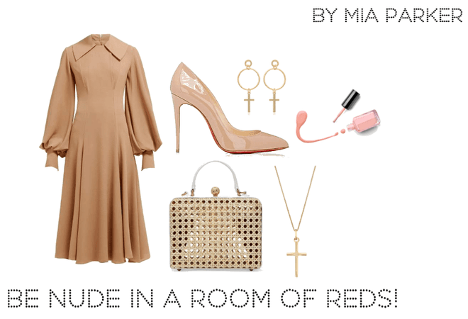 be nude in a room of reds!