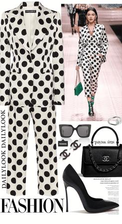 Polka Dot Suit