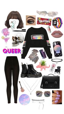 Queer/Black/Pink
